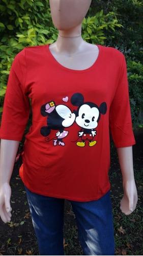 Camiseta  Baby Mickey Talles Grandes Xl, Xxl