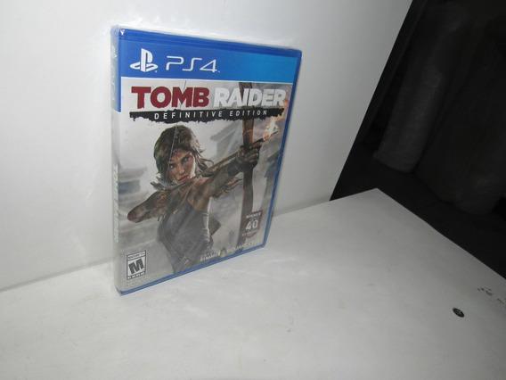 Tomb Raider Definitive Edition Ps4 Mídia Física Novo Lacrado