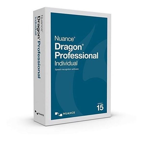 Nuance Dragon Pro Individual De Voz A Texto Win V15.30 / Mac
