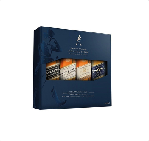Whisky Escoces Johnnie Walker Collection 4x200 Ml