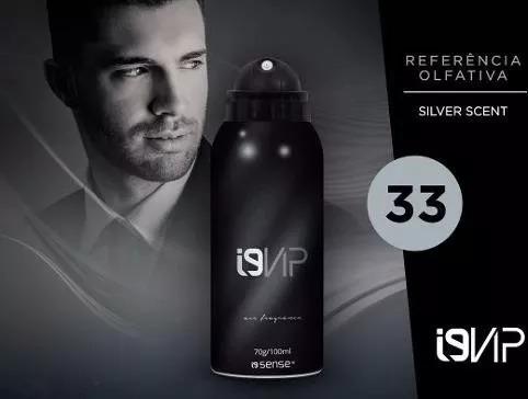 I9 Vip 33 (referência Olfativa -silver Scent) 100ml- I9 Life