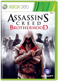 Assassins Creed Brotherhood Xbox 360 Original Frete R$12