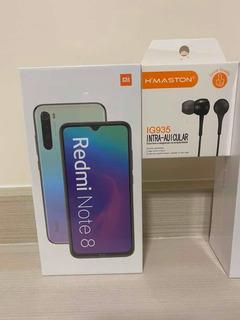 Xiaomi Redmi Note 8 Dual Sim 64gb Branco 4gb Rom