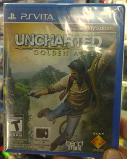 Uncharted Golden Abyss Ps Vita / Nuevo Sellado + Garantia