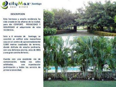 Vendo Hermosa Residencia - El Jobo Guazumal Santiago - Pvc-0