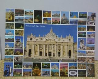 Cartão Postal Da Basílica Di San Pietro-itália-01unid.