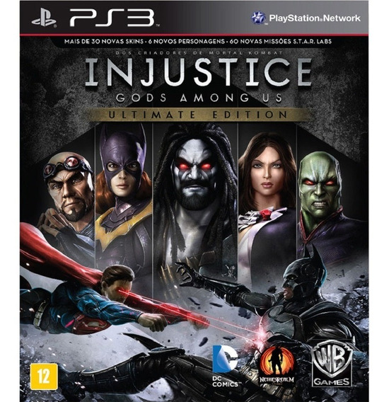 Injustice Gods Ultimate Edition Ps3 Dublado Portugues