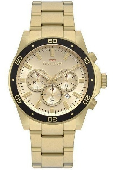 Relógio Technos Masculino Skymaster Dourado Js25bz/4p