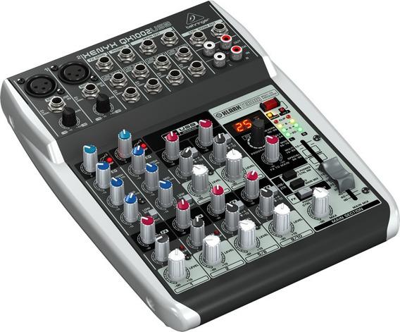 Mixer Xenyx 110v Qx1002usb Behringer Nfe
