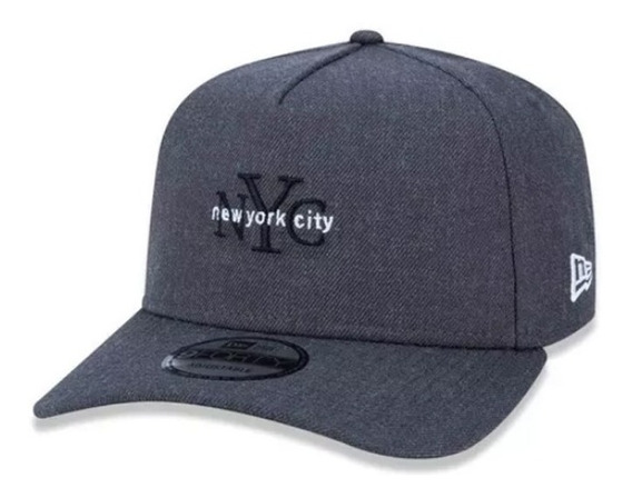 Boné New Era Original New York City Cinza Nev19bon140 Curva