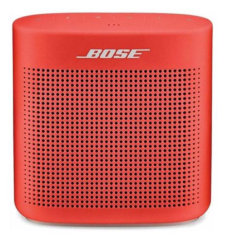 Bocina Bose SoundLink Color II portátil con bluetooth  coral red