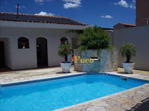 Imagem 1 de 4 de Casa Com 3 Dormitórios À Venda Por R$ 1.100.000,00 - Village Piemonte - Itatiba/sp - Ca0475