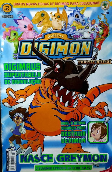 Revista Digimon E Pokemon Oficial