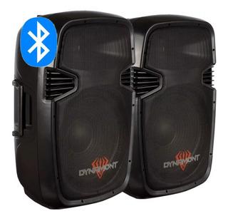 Parlante Bluetooth 15 Activo Dynamont 800w Usb/fm/mic Par