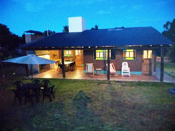Casa De Campo Vacacional Para 10 Personas Monte Hermoso !!