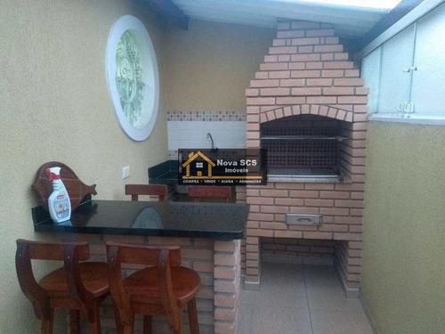 Imagem 1 de 16 de Sobrado Com 2 Dorms, Osvaldo Cruz, São Caetano Do Sul - R$ 750 Mil, Cod: 1214 - V1214