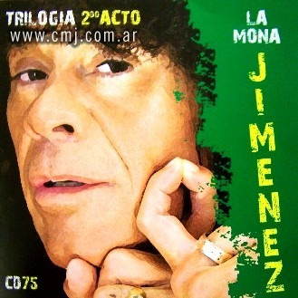 Cd Mona Jimenez Trilogia 2do Acto Open Music V-