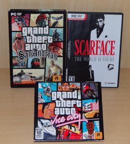 Gta - San Andreas + Scarface + Grand Theft Auto - Vice City