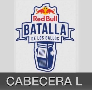 Entradas Red Bull Batalla De Gallos Cabeceras 17 Años En M L