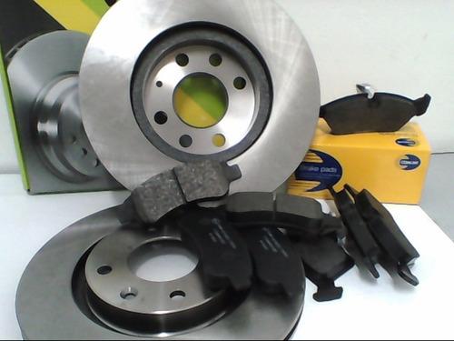 Imagen 1 de 2 de Kit Discos Y Pastillas De Freno Chevrolet Astra 2005...