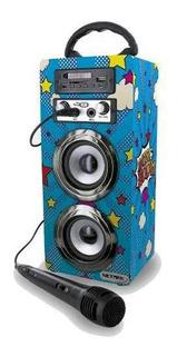 Netmak Parlante Portatil Bluetooth Usb Sd Microf Nm-i Cuotas