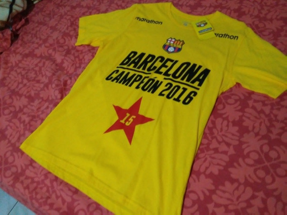 Camiseta Barcelona 2016 Talla M | Nueva Original