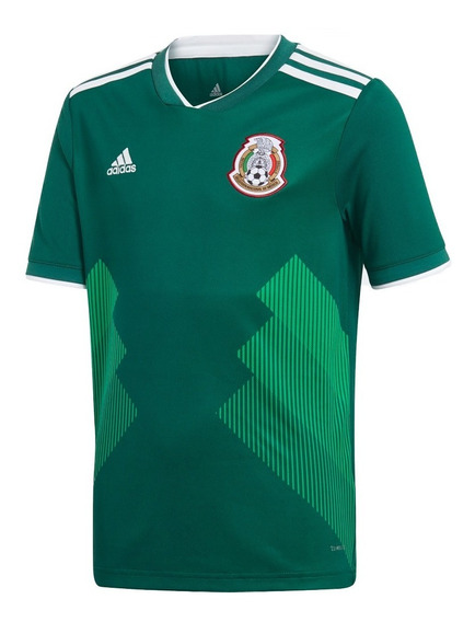 Playera Jersey Seleccion De Mexico Niño adidas Bq4696