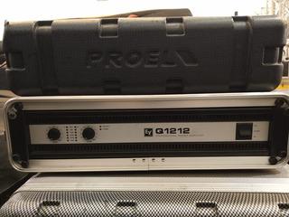 Amplificador Electro Voice Q1212 Incluye Rack Proel