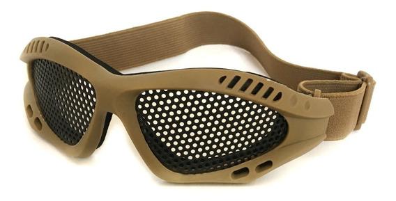 Mascara Óculos Proteção Airsoft Paintball Antiembaçante
