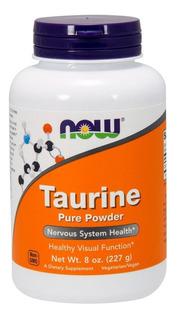 Taurine Pure Powder (227g) - Now Foods - Pronta Entrega
