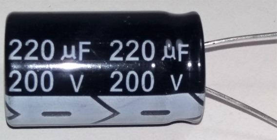 Capacitor Eletrolítico 220uf X 200v 105°