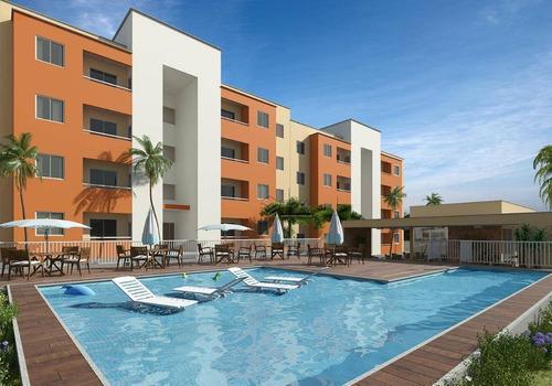 Imagem 1 de 25 de Apartamento Com 2 Quartos À Venda, 53 M², Suíte, 2 Vagas, Área De Lazer, Financia - Paumirim - Caucaia/ce - Ap1874