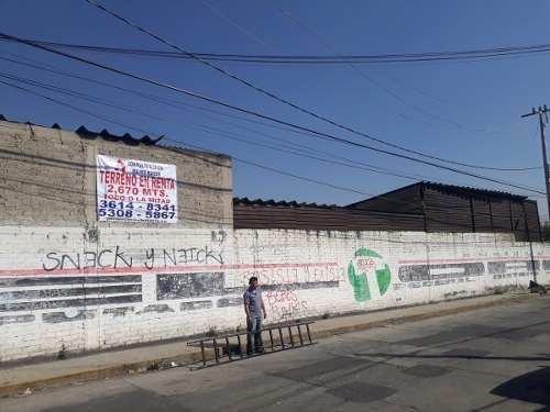 Terreno Bodega En Venta San Miguel Xochimanga