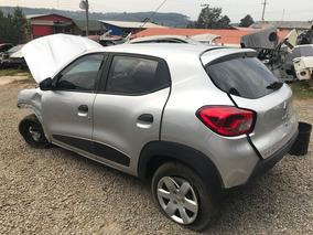 Sucata Renault Kwid 1.0 3 Cilindro 2018 Rs Caí Peças