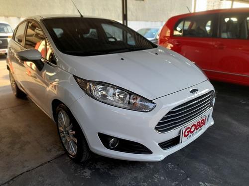 Imagem 1 de 10 de Ford / Fiesta 1.6 Titanium Hatch 16v Powershift 2014 Branco