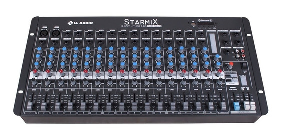 Mesa Som Starmix Bluetooth 30w 16 Canais S1602dbt Ll Áudio