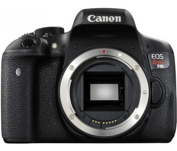 Câmera Canon Rebel T6i Somente Corpo