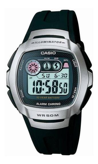 Relógio Casio Masculino Original W-210-1avdf Frete + Nf