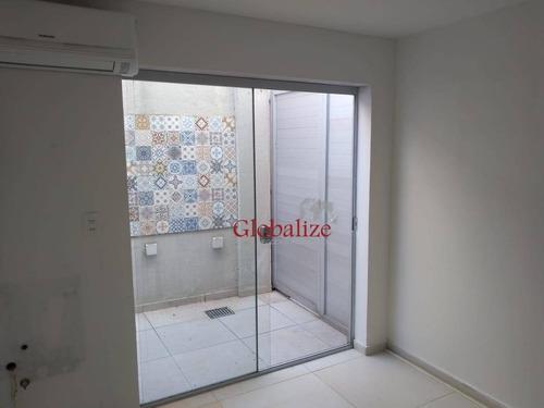 Conjunto Para Alugar, 16 M² Por R$ 1.450,00/mês - Boqueirão - Santos/sp - Cj0003