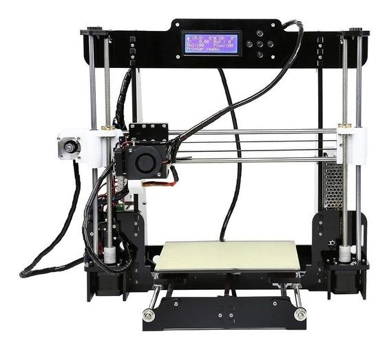Impressora 3D Anet A8 cor black/transparent 110V/220V com tecnologia de impressão FDM