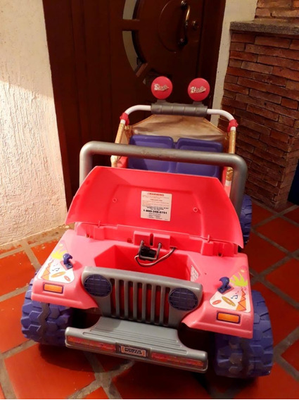 Carrito Fisher Price Jeep