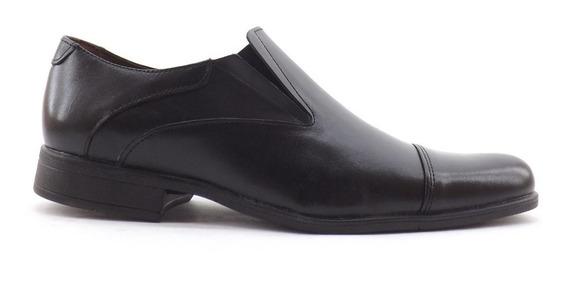 Zapatos De Vestir Hombre Cuero Elasticos Nuevos Comodos 1553