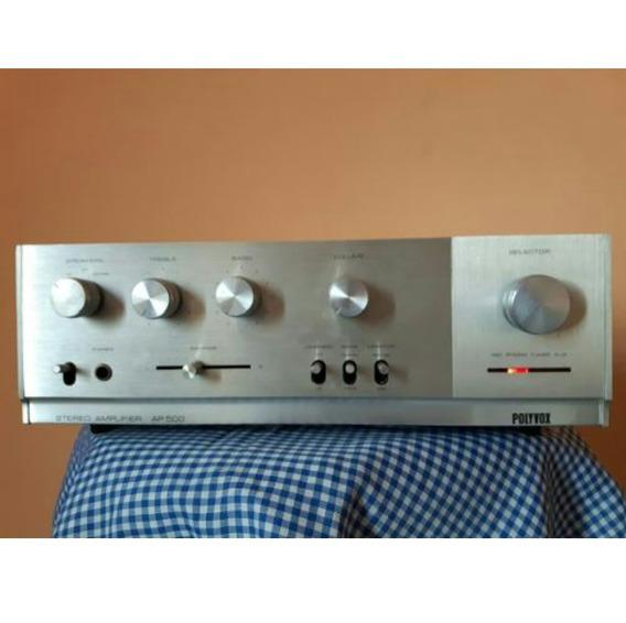 Amplificador Polyvox Ap 500 Gradiente.technics.pioneer.sony