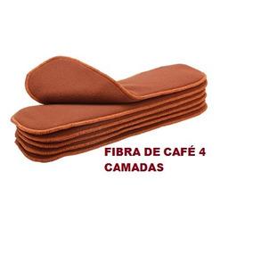 Absorvente Fibra De Café Para Fralda Pano Moderna Ecológica