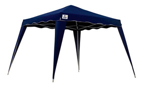 Tenda Gazebo Azul Poliéster 3 X 3 X 2,4 M Dobrável Belfix