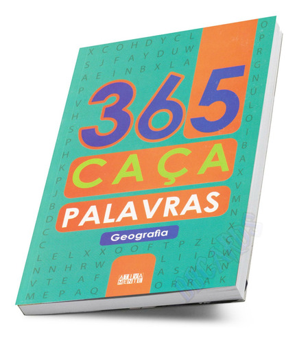 Livro De Passatempos 365 Caça Palavras Com Letras Grandes