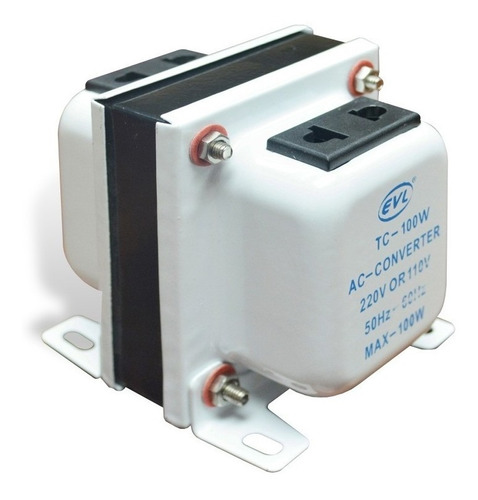 Imagen 1 de 1 de Convertidor Transformador De 110v A 220v 2500 Watts