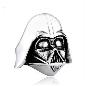 Anel Aço Inoxidável Star Wars Darth Vader Tamanho 28 (20.8mm