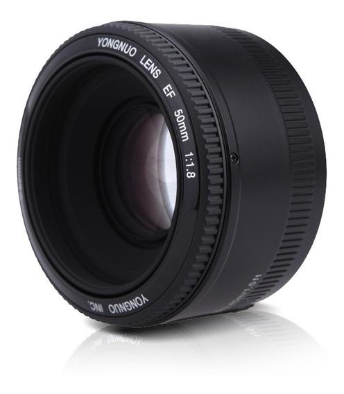 Lente Yongnuo 50mm F/1.8 Canon