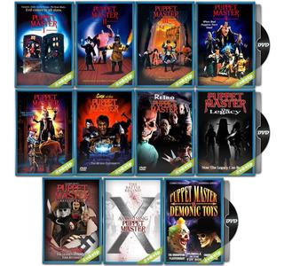 Puppet Master Coleccion Completa De 11 Dvd